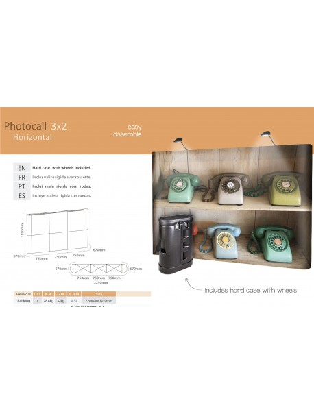 Photocall 3x2 Horizontal