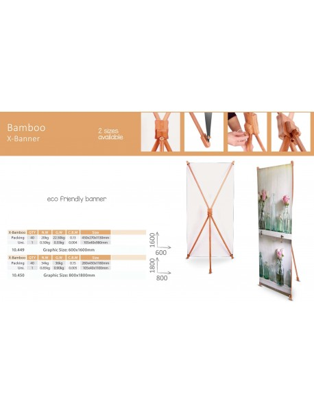 X-Banner Bamboo 80x180