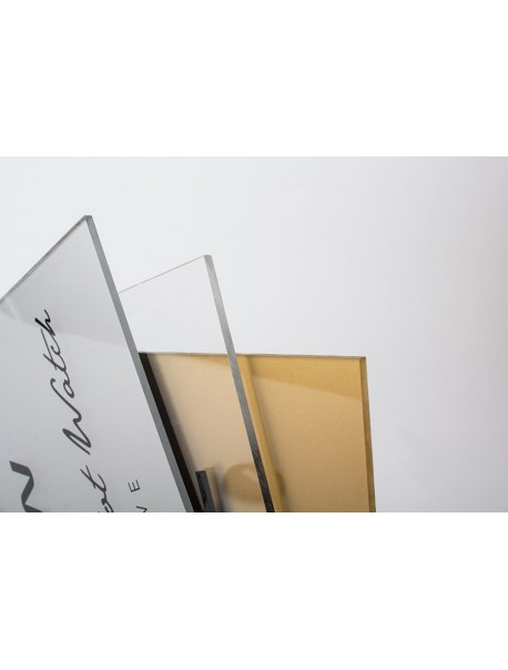Placa de Metacrilato 5x10 cm.
