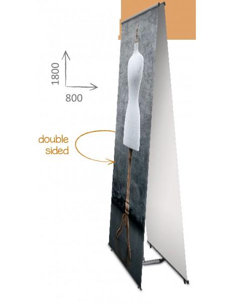 Lbanner Doble CAra 800x1800 m.m.