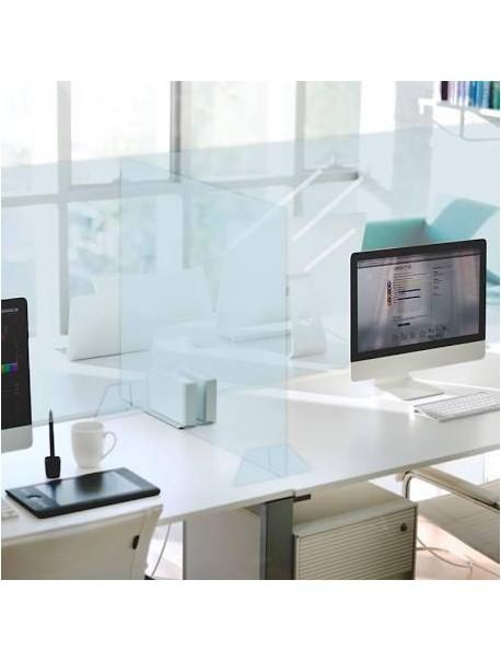 2 unidades Mampara anticontagio puestos de oficina