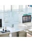 Mampara anticontagio puestos de oficina